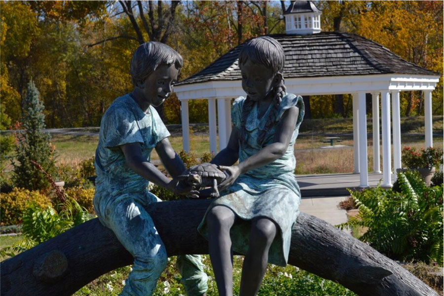 frenchtown-children-statue