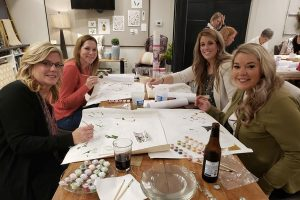 Paint by numbers event